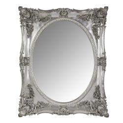 espejo Beth platino