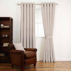 tejido para confección liso en gris claro