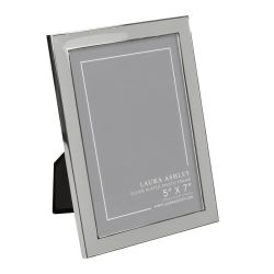 marco de fotos en metal y resina color gris de diseño
