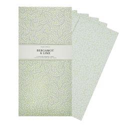 papel perfumado para armarios y cajones de fragancia cítrica