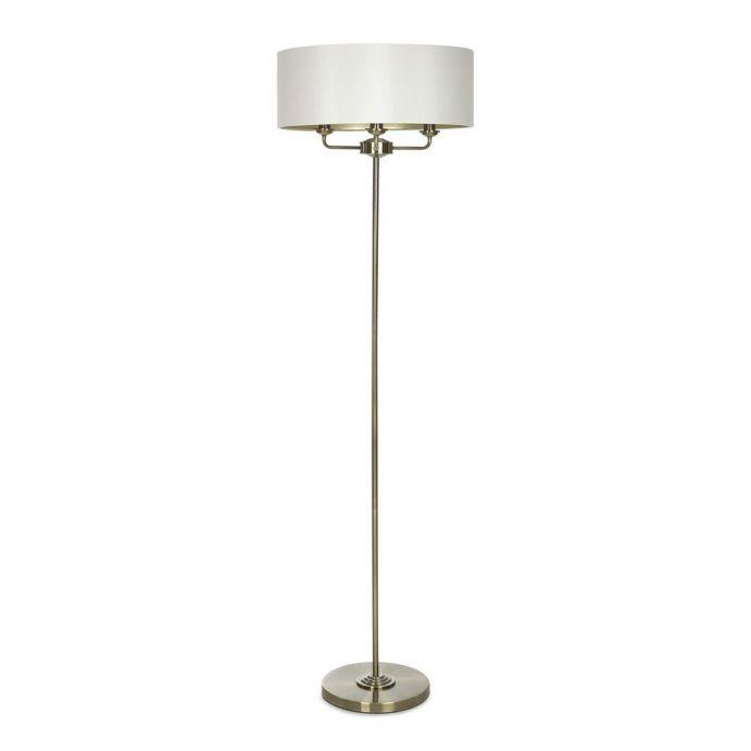 lámpara de suelo Sorrento bronce envejecido