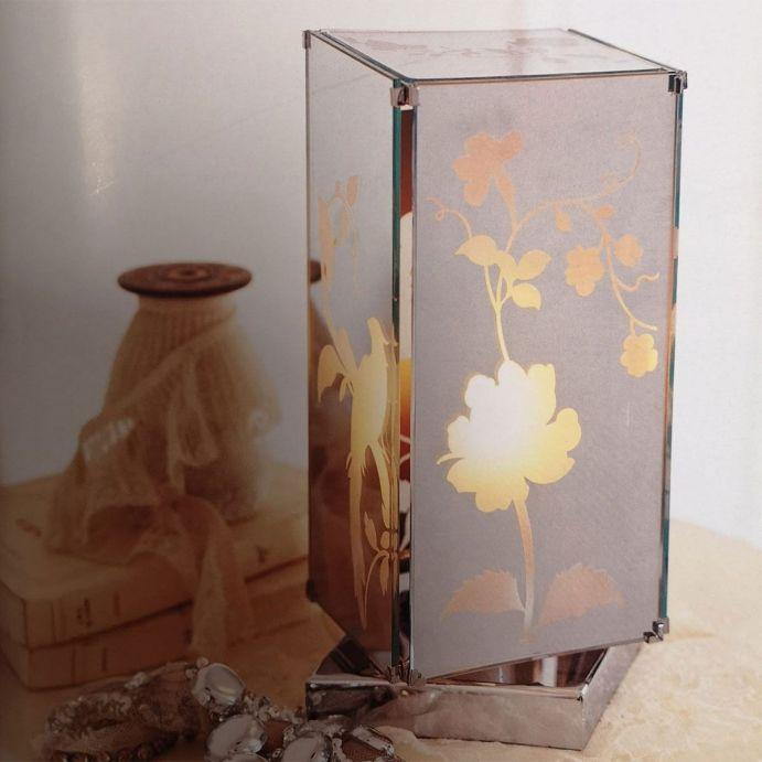 lámpara de mesa Carin espejada