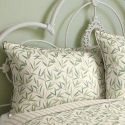 ropa de cama Willow Leaf verde seto