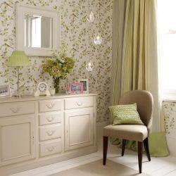 mueble para salón aparador estilo rústico clásico en color marfil