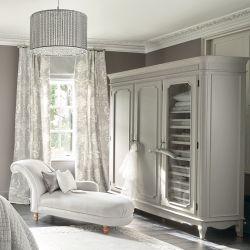 armario vesridor 3 cuerpos de madera color gris
