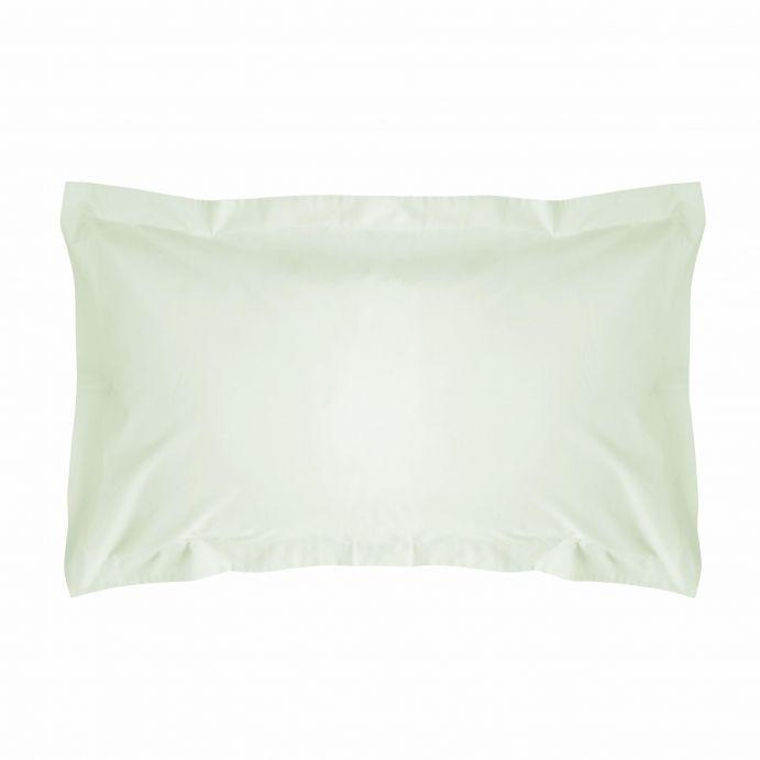2 fundas de almohada verde seto 200 hilos