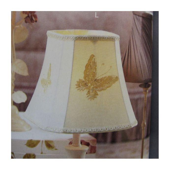 pantalla papillon crema