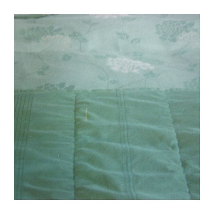 colcha rhianna seda verde mar