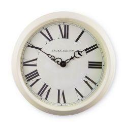 reloj de pared de diseño clásico en color crema