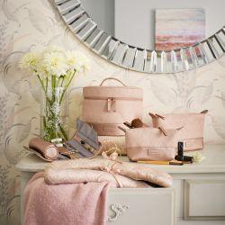 espejo de pared redondo biselado de diseño