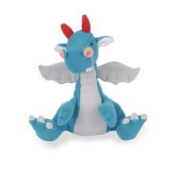 peluche suave dragón azul