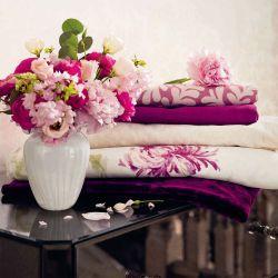 tela lisa para confección en un intenso rosa bay