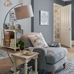 tela gris de chenilla para tapizar de diseño