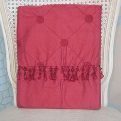 cortinas confeccionadas en seda lucille arándano