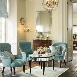 tejido para tapizar azul verdoso de diseño