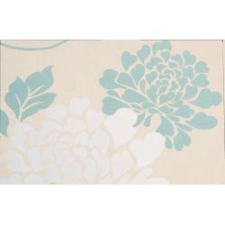 papel pintado isodore azul verdoso
