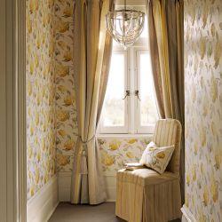 elegante sujeción de cortinas con diseño de borla