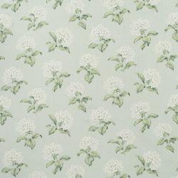 tejido de lino estampado heligan eau de nil