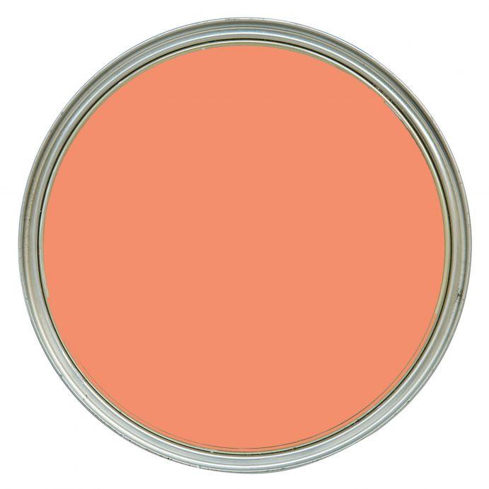 pintura de interior rojo pimentón pálido