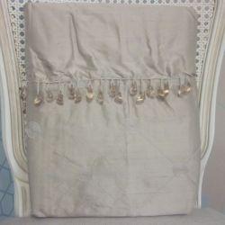 cortinas confeccionadas en seda lucille bambú
