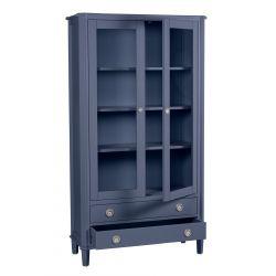 expositor 2 puertas Henshaw azul mar oscuro