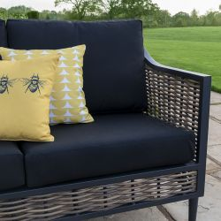 butaca Langley negro - muebles para jardín