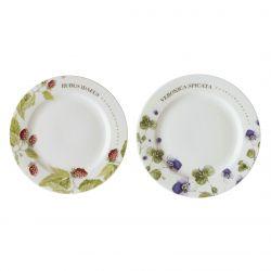 2 platos 18 cm en caja Marjo