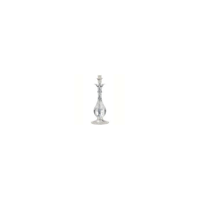 base de lámpara de cristal