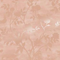 Papel Pintado Eglantine Silhouette Rosa Maquillaje