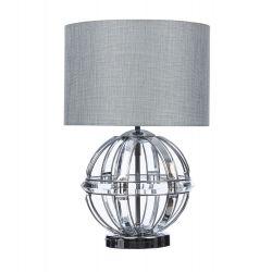 lámpara de mesa Aidan cromo