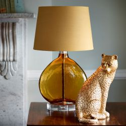 base de lámpara Amber