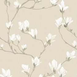 Papel Pintado Magnolia Grove Natural