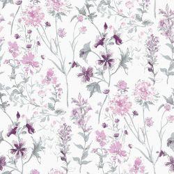 Papel Pintado Wild Meadow Iris Pálido