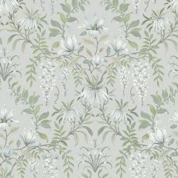 Papel Pintado Parterre Verde Salvia