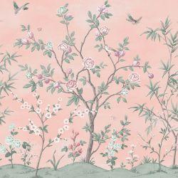 Mural Eglantine Mural Rosa Maquillaje