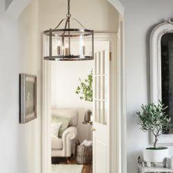 lámpara Harrington cromo