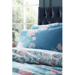 set de cama Tapestry Floral azul mar oscuro