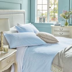 set de cama Penelope azul cielo
