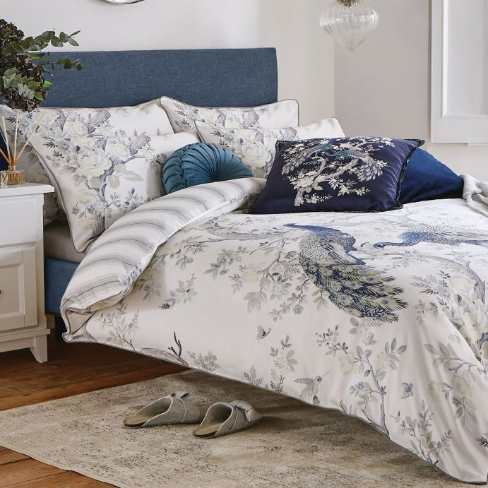 set de cama Belvedere azul noche
