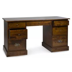 escritorio garrat castaño oscuro