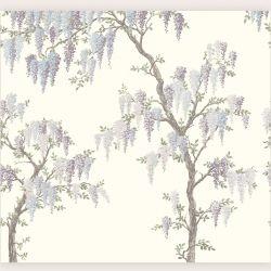 Mural Wisteria Garden Mural Iris Pálido