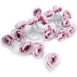 guirnalda peony rosas