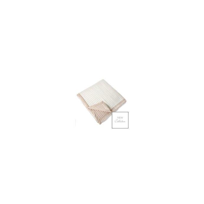 colcha coleton seda crema