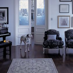 alfombra Malmaison azul parisino