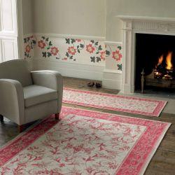 alfombra pasillera Malmaison cereza