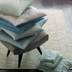 alfombra Baroque azul mar pálido 140x200