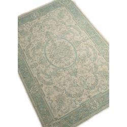 alfombra Victoriana azul verdoso
