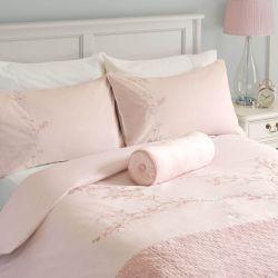 set de cama Oriental Blossom rosa maquillaje