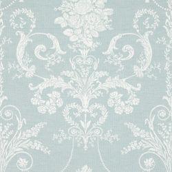 tela para tapizar Josette azul verdoso