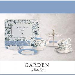 vajilla de té para dos Garden Collectables